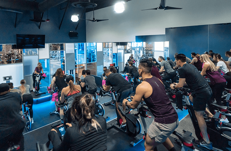 Covina spin class