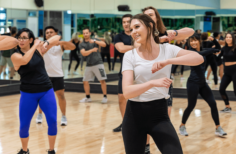 Dance fitness class in Chatsworth